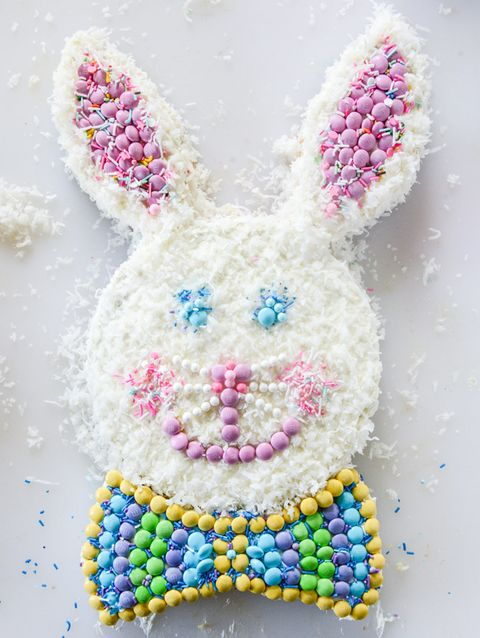 easter bunny cake coconut