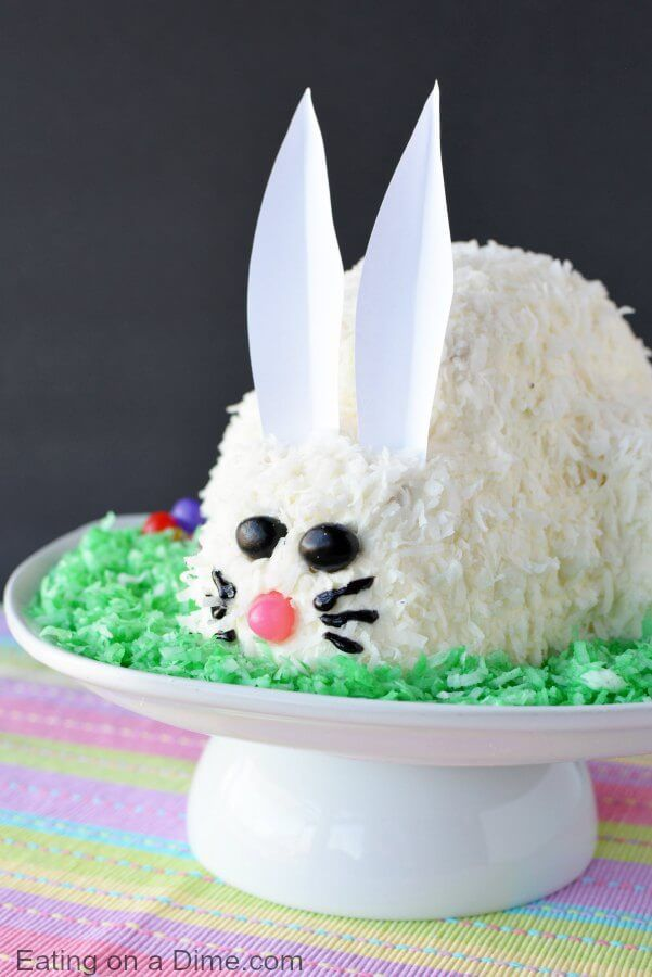 14 Cute Easter Bunny Cake Ideas How To Make A Bunny Rabbit Cake