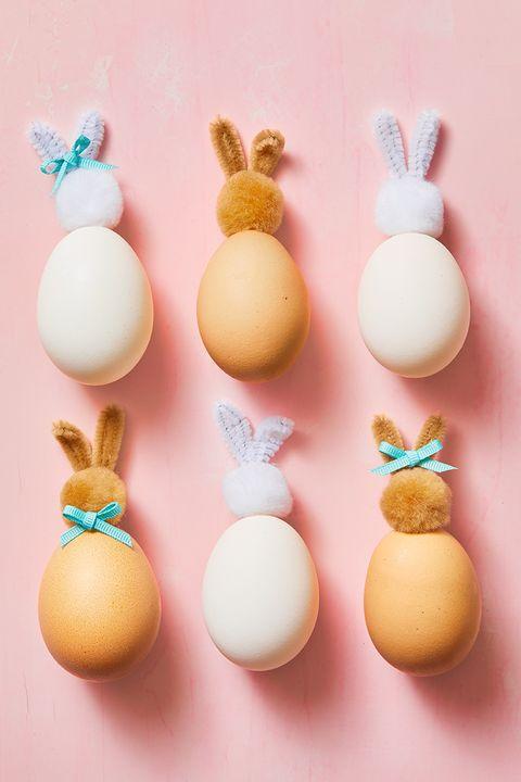 pompom bunny eggs