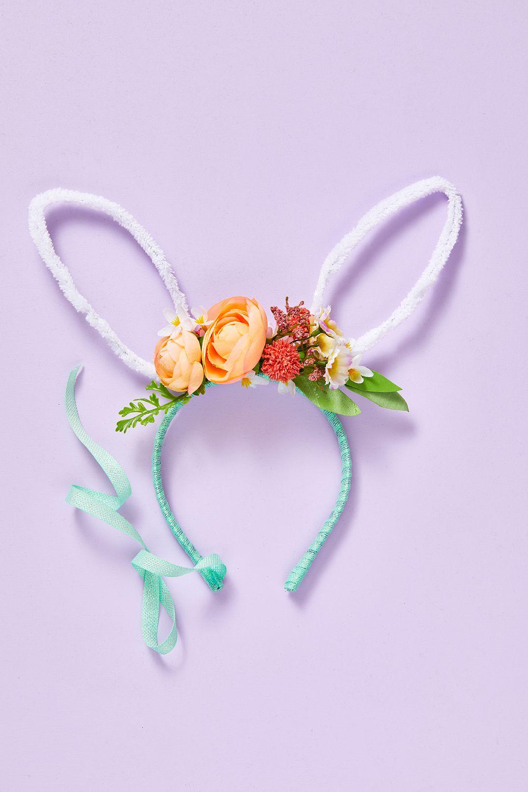 Baby Headband Easter Hair Bows Easter Basket Gifts Easter Bunny Headband Easter Baby Headband Easter Headband Bunny Ears Headband