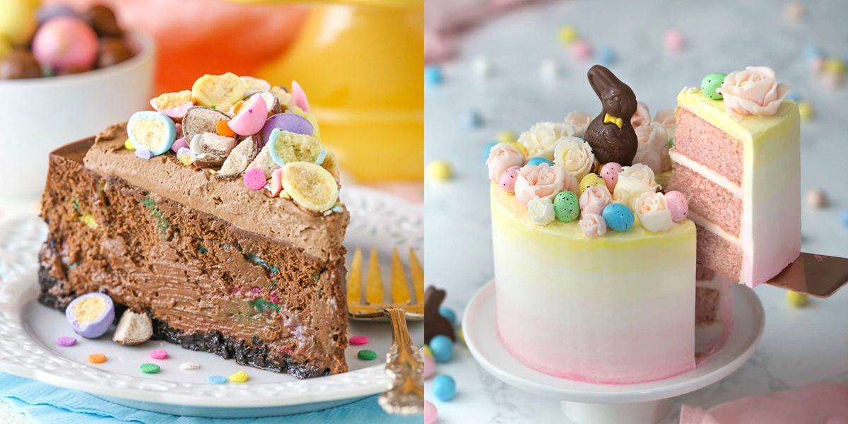 80 Easy Easter Cakes and Desserts Recipes - Best Ideas for ...