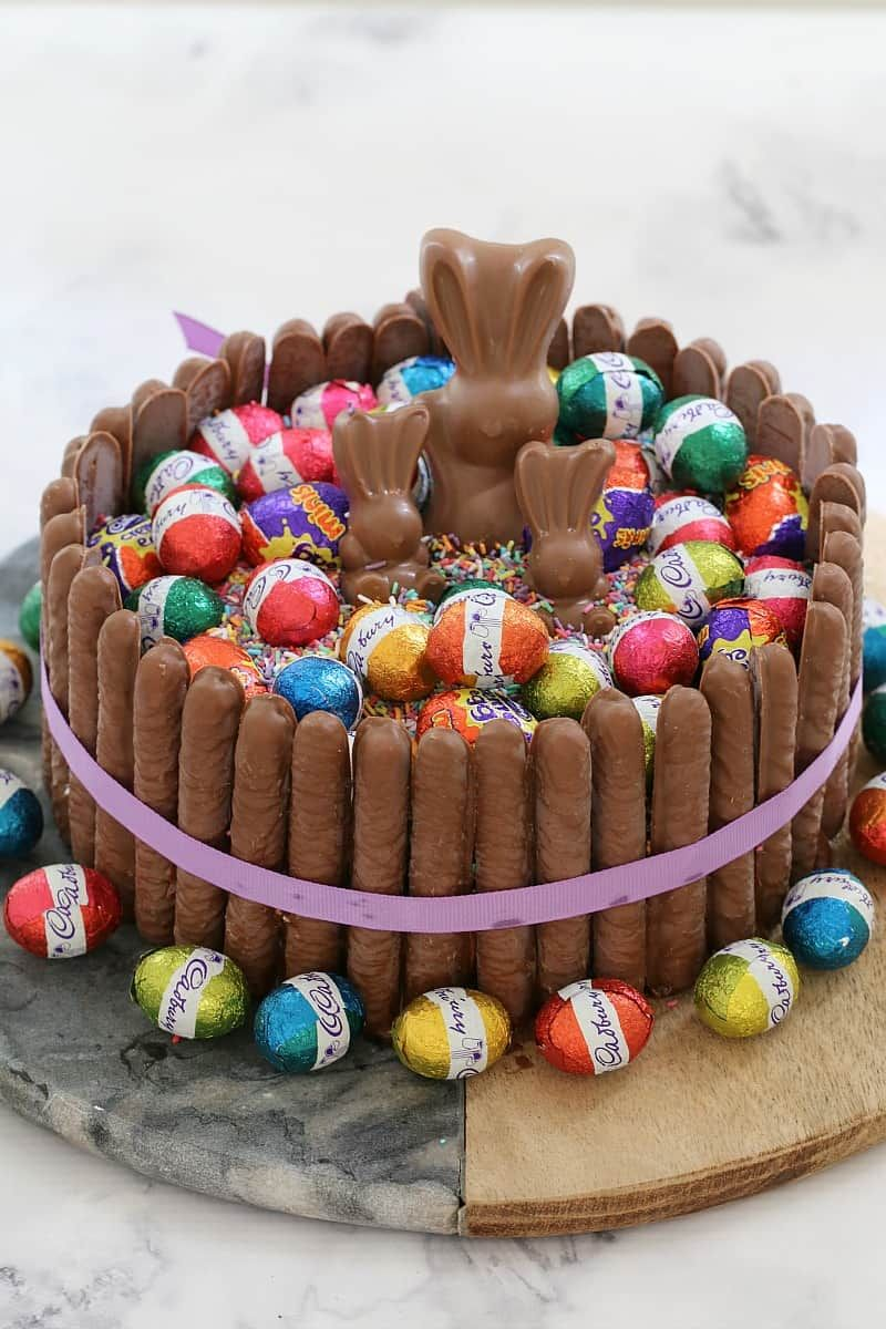 Astounding 85 Easy Easter Cake Ideas Easy Easter Cake And Dessert Recipes Funny Birthday Cards Online Fluifree Goldxyz