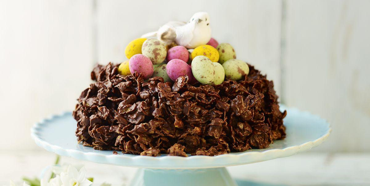 Stupendous Giant Chocolate Cornflake Cake Funny Birthday Cards Online Sheoxdamsfinfo