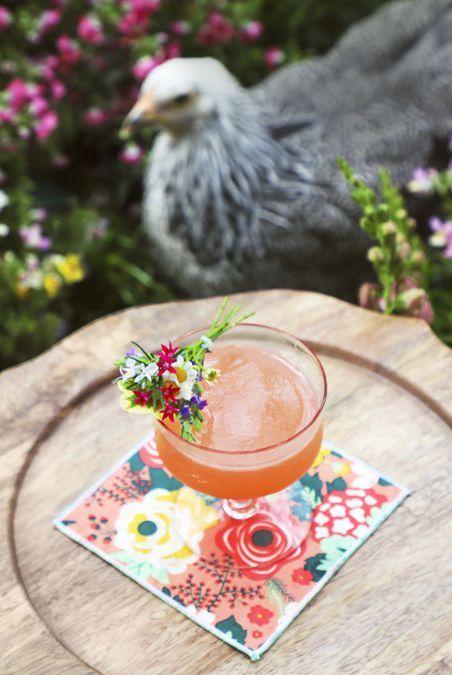 easter cocktails spring bouquet