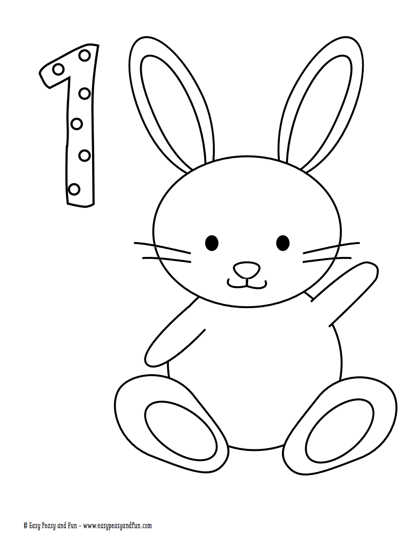 Easter Coloring Pages for Kids | Easter coloring pages printable ... | 1055x815