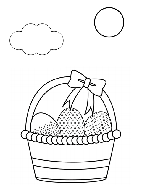 8 free printable Easter coloring pages your kids will love | 622x480