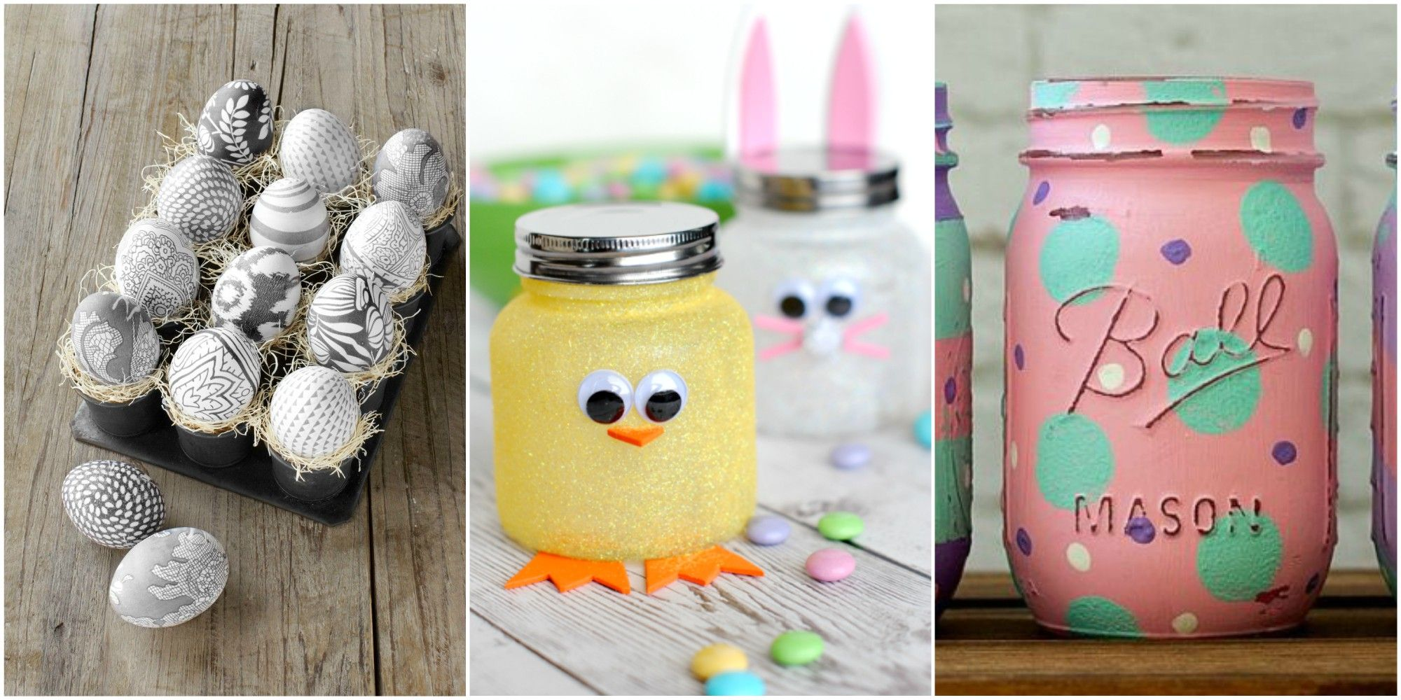 Hop to It! 45 Easy Crafts to Make This Easter