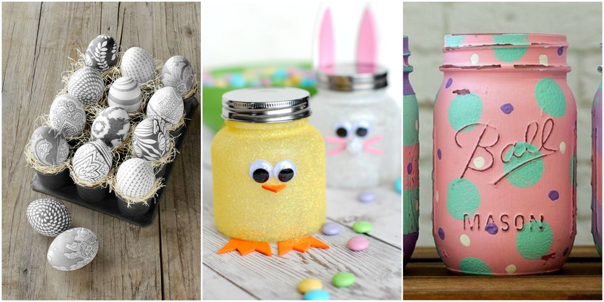 45 easy easter crafts ideas for easter diy decorations for Easter craft gift ideas