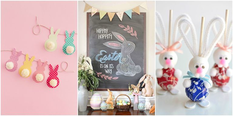 22 DIY Easter Decorations to Make - Homemade Easter Decorating Ideas