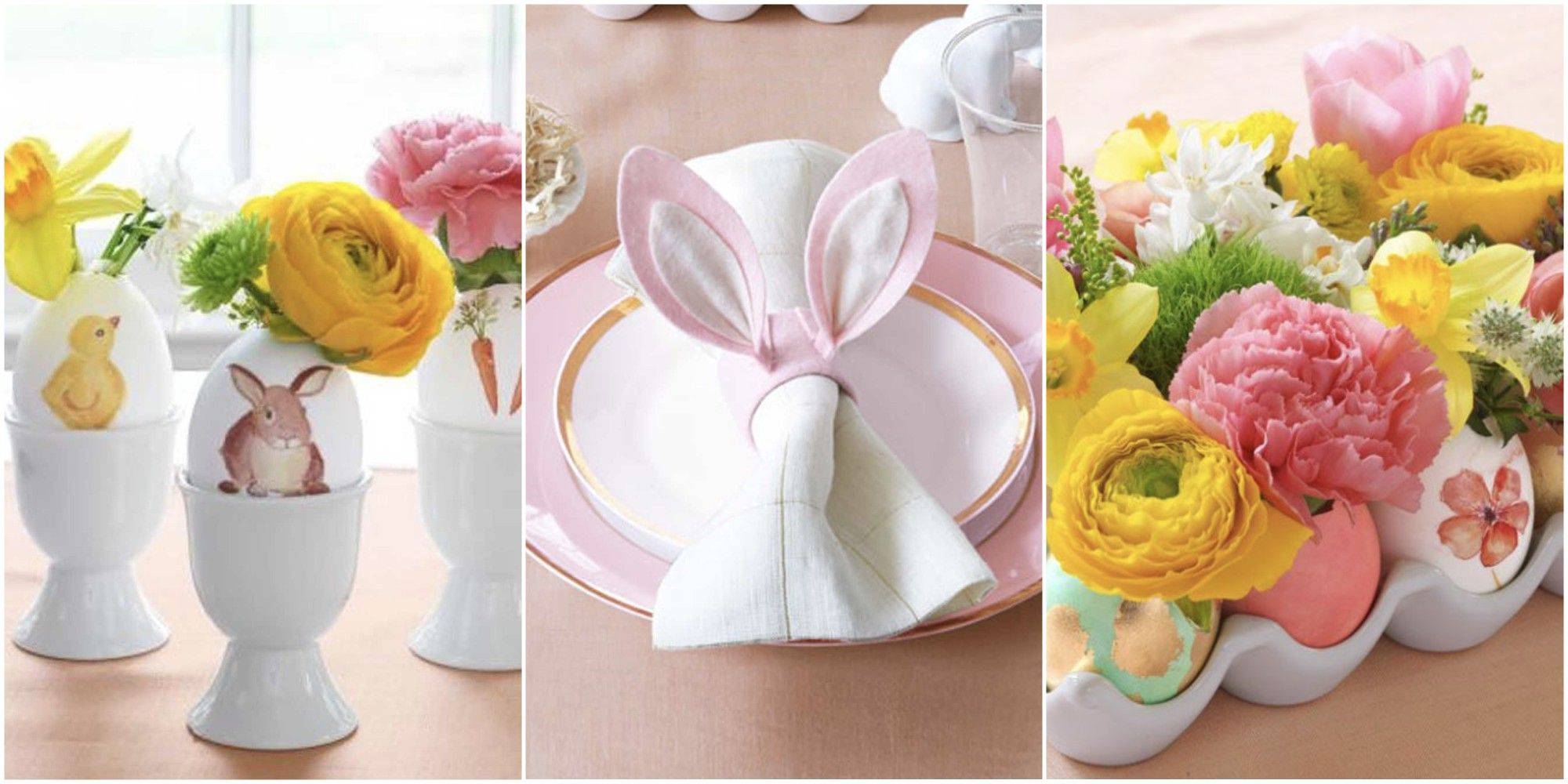 These DIY Designs Offer The Perfect Excuse To Turn Your Home Into An Easter  Bunnyu0027s Paradise. Between The Sweet Edible Treats And Sweet Table Art, ...