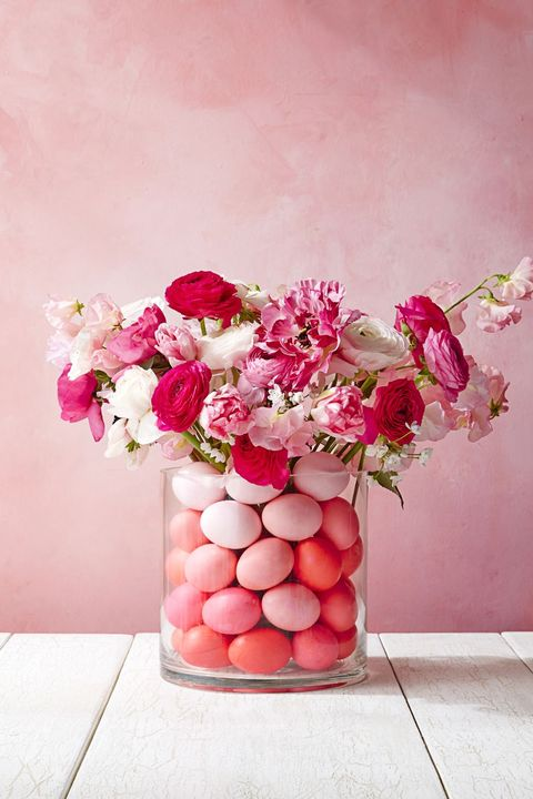 easter crafts - egg bouquet