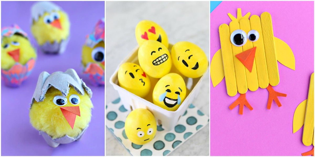easter crafts for kids  sc 1 st  Country Living Magazine & 38 Easter Crafts for Kids - Fun DIY Ideas for Kid-Friendly Easter ...