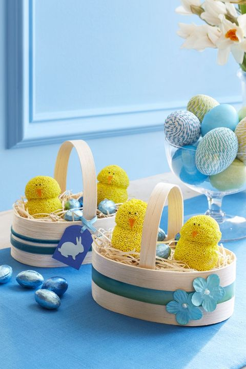 easter crafts spring chickens