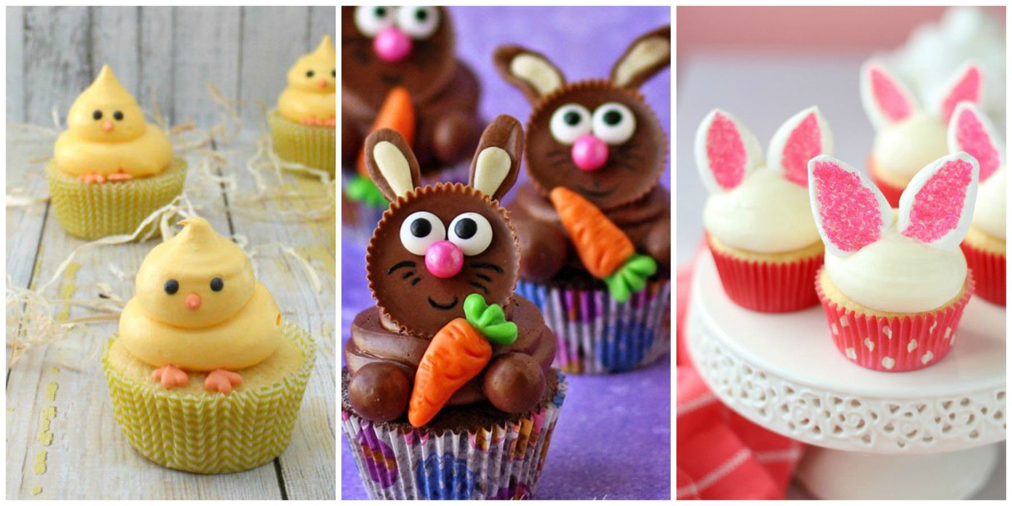 easter cupcakes & 22 Cute Easter Cupcakes- Easy Ideas for Easter Cupcake Recipes