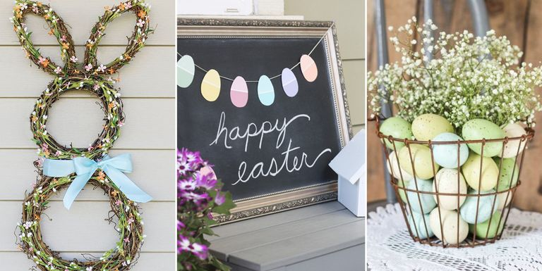 28 diy easter decorations homemade easter decorating ideas Images for easter decorations