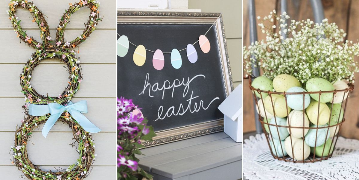 28 DIY Easter Decorations - Homemade Easter Decorating Ideas
