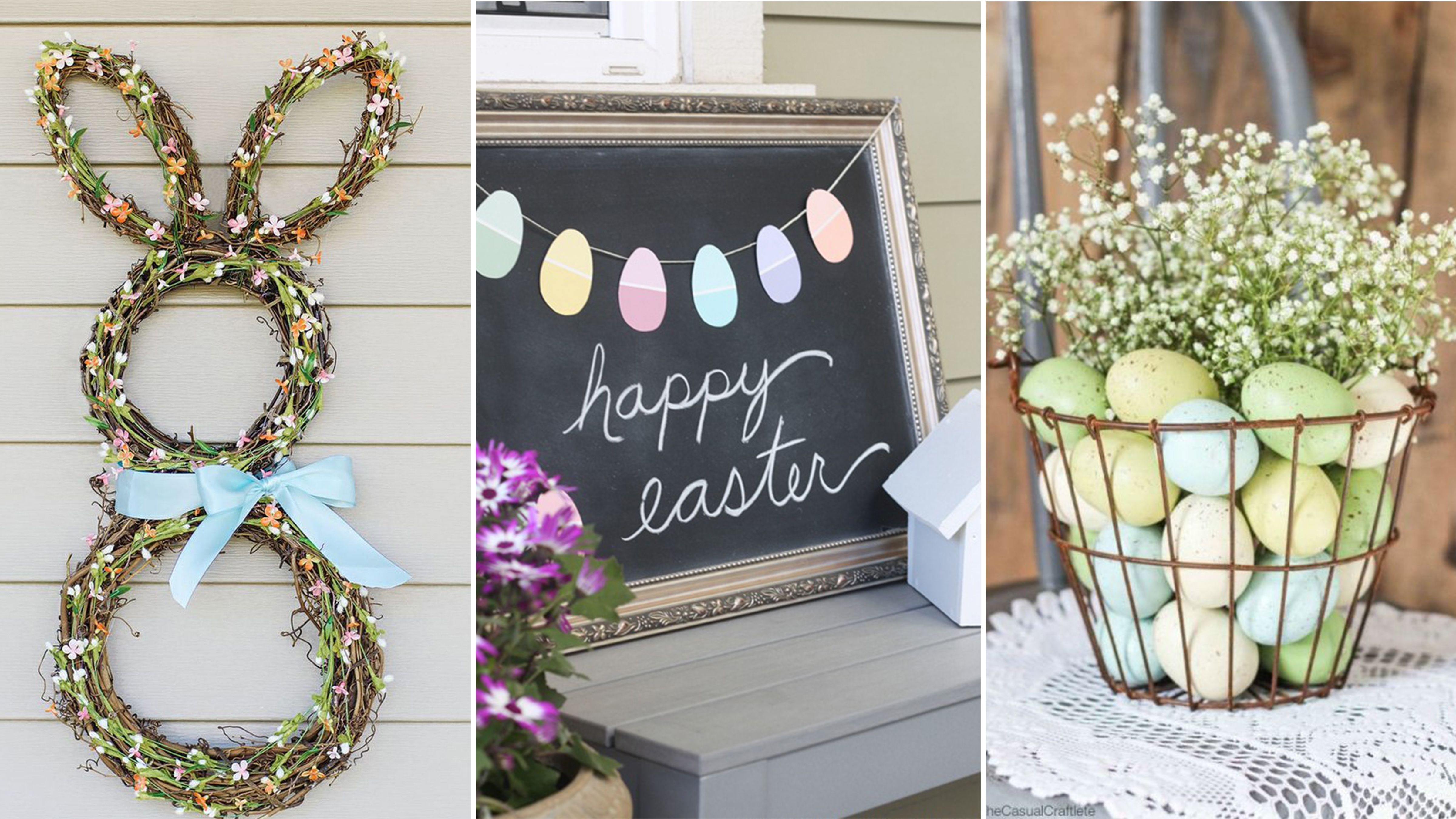 homemade easter decorations & 28 DIY Easter Decorations - Homemade Easter Decorating Ideas