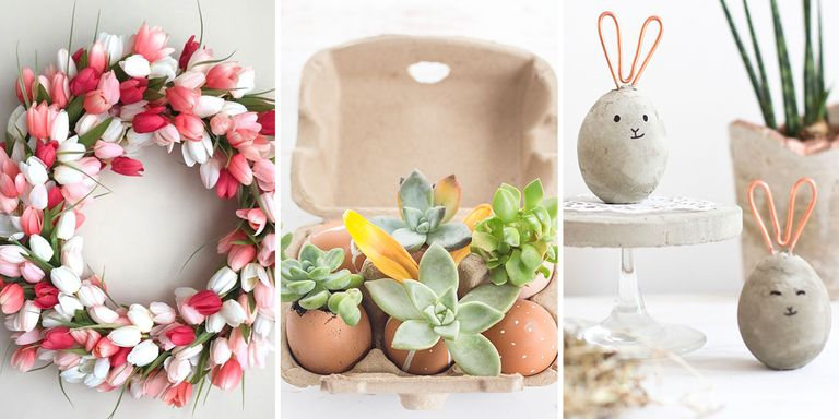12 must try modern easter decorating ideas easter for Home easter decorations