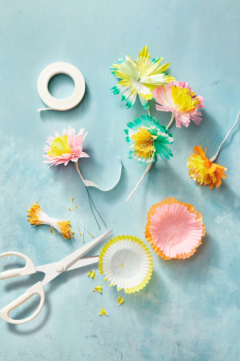 Easter Decorations Paper Spring Flowers