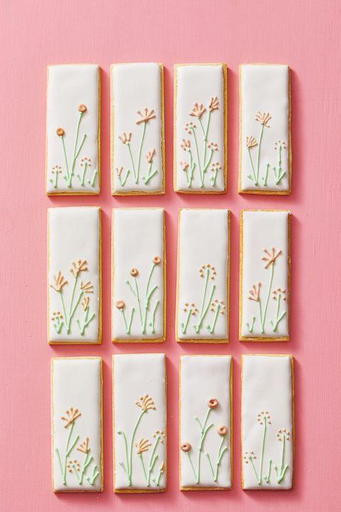 easter desserts - garden cookies