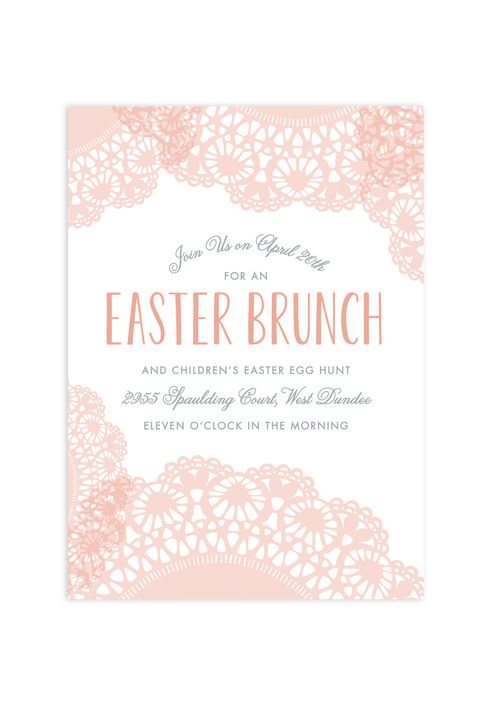 free easter brunch invitations