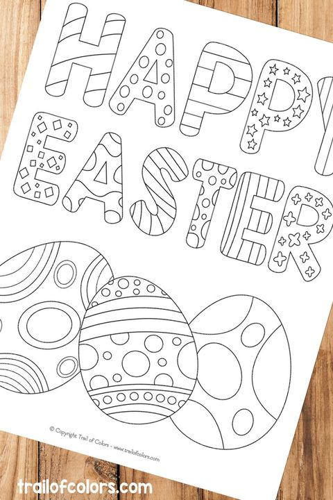 easter egg coloring pages happy easter