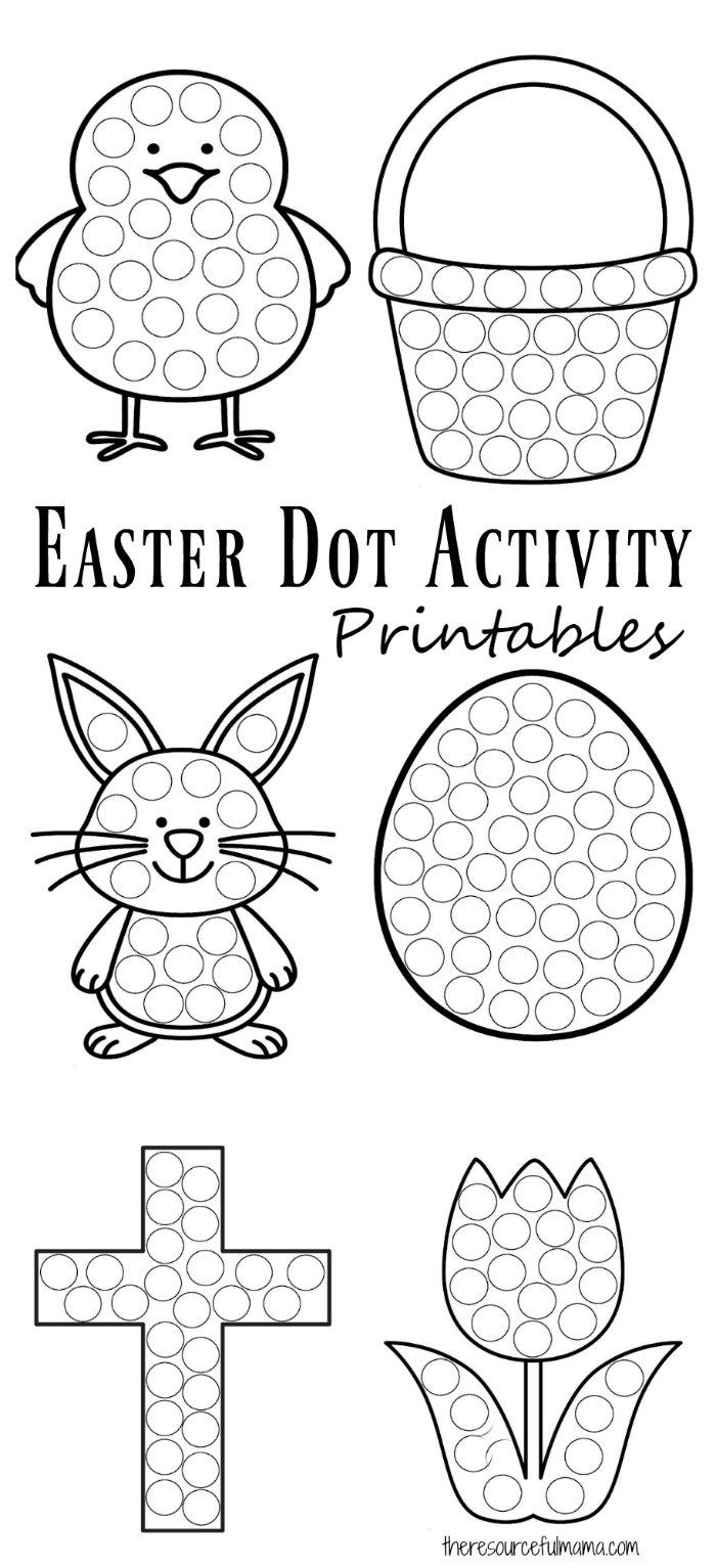 20 Best Easter Coloring Pages for Kids - Easter Crafts for Children | 1533x700