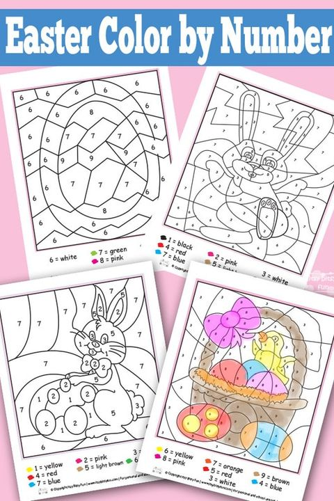 25 Best Easter Coloring Pages For Kids Easter Crafts For Children