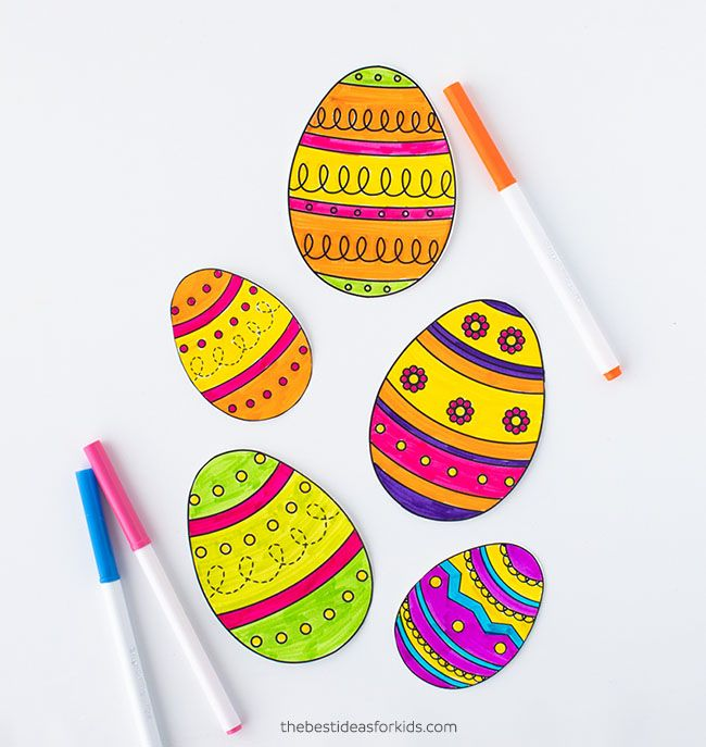20 Best Easter Coloring Pages For Kids - Easter Crafts For Children