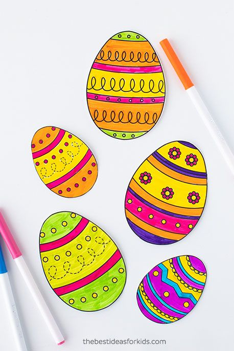 easter egg coloring pages eggs