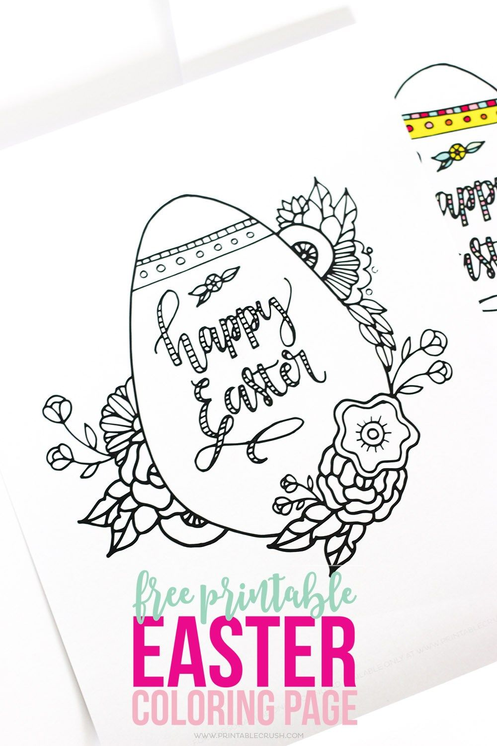 Easter Coloring Pages | 1500x1000