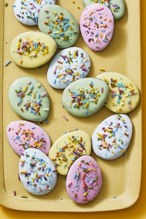 easter cookies - egg cookies