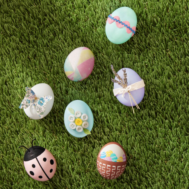 9 Best Easter Egg Decoration Ideas - Creative DIY Easter Egg Designs