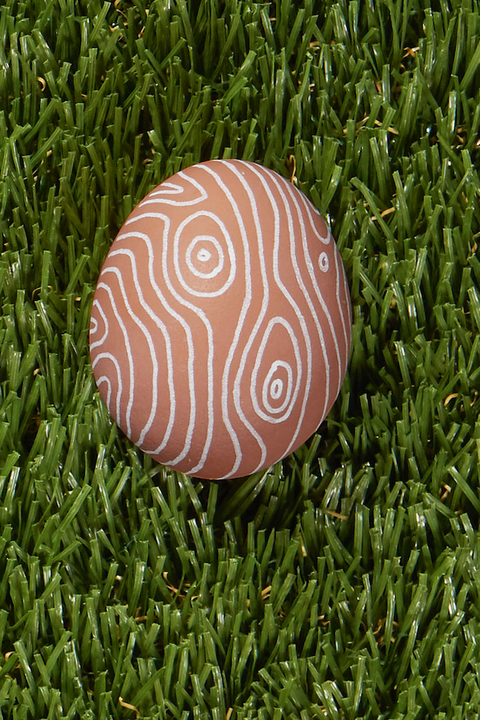 Faux Bois easter egg decorations designs