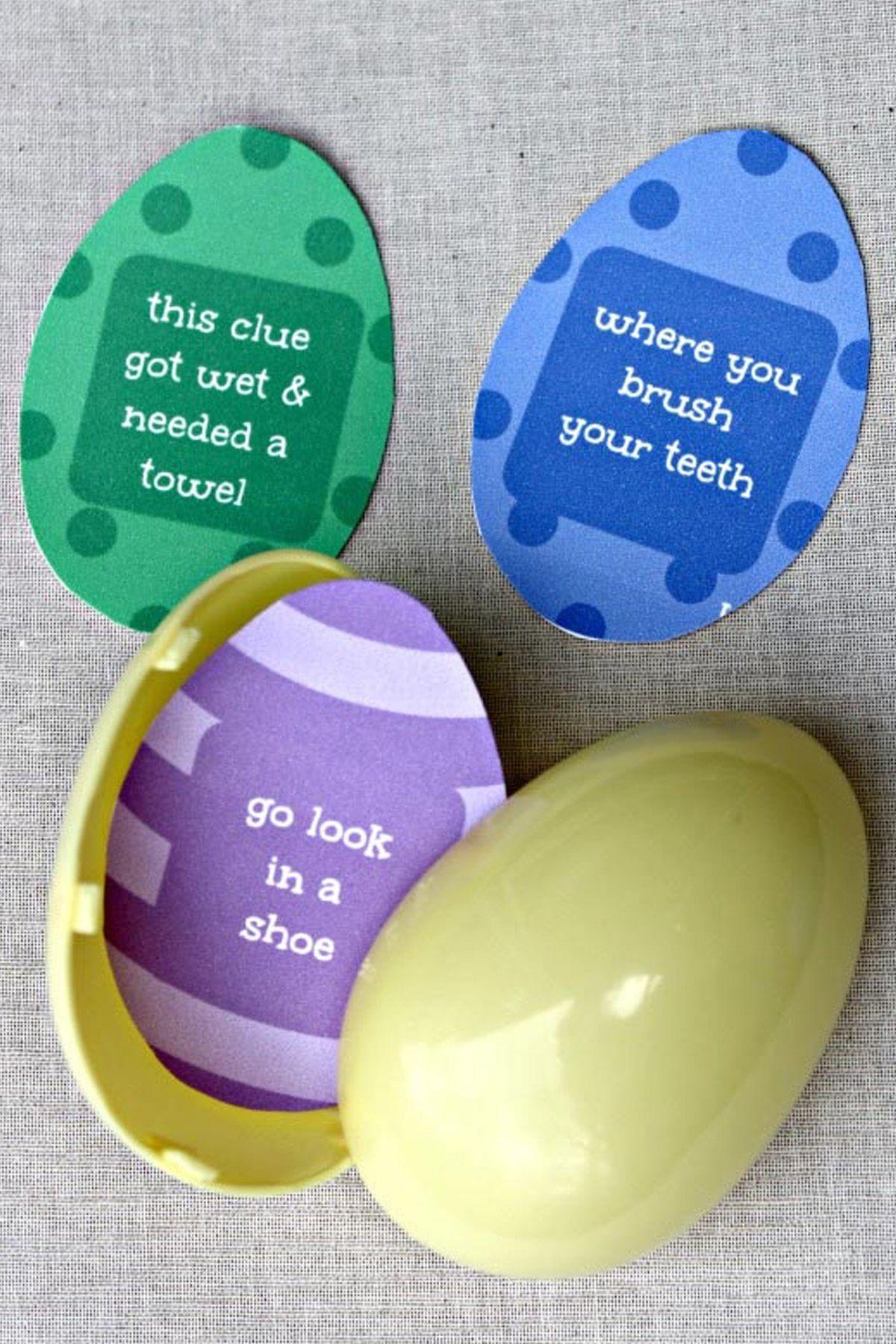 crack the code easter egg hunt