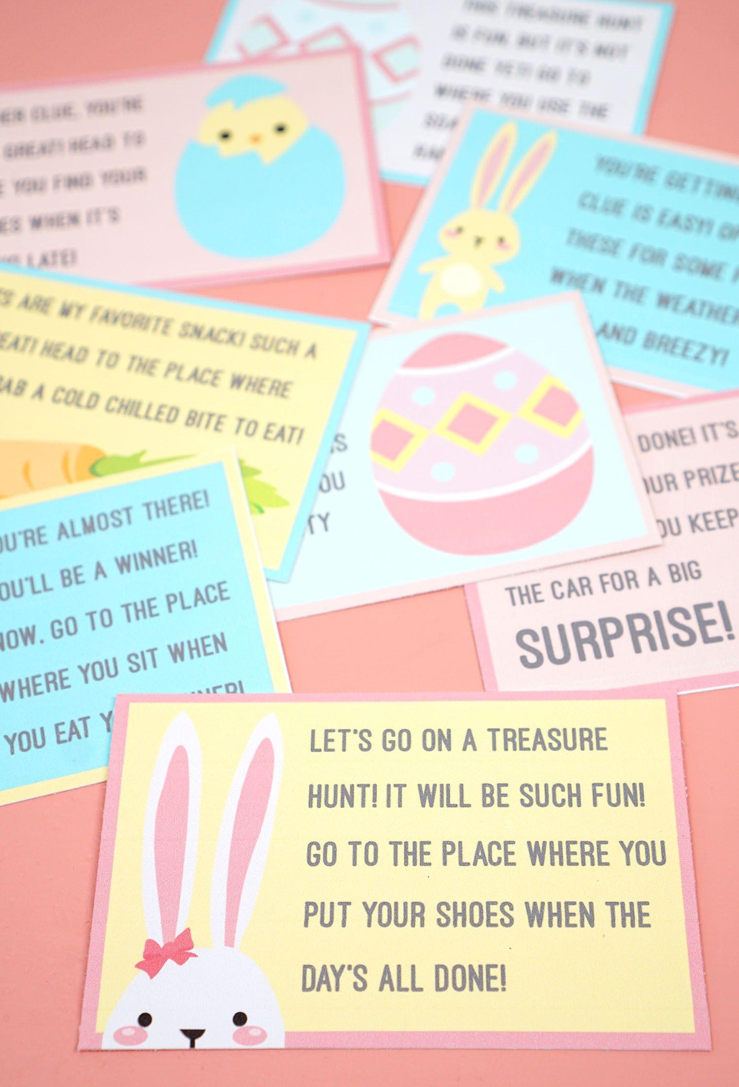 35 Best Easter Egg Hunt Ideas For Kids Unique Easter Egg Hunt Ideas