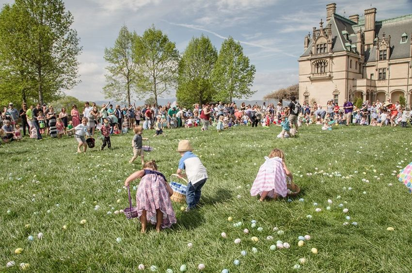 easter egg hunts near me biltmore estate
