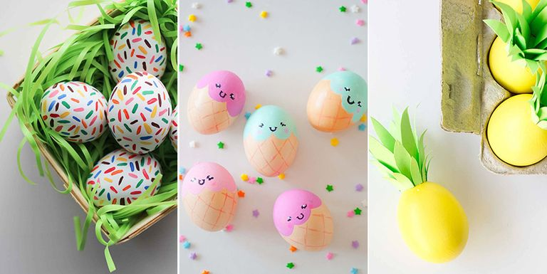 52 cool easter egg decorating ideas creative designs for for Easter egg ideas
