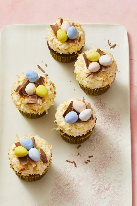 Easter Egg Nest Cupcakes Recipe