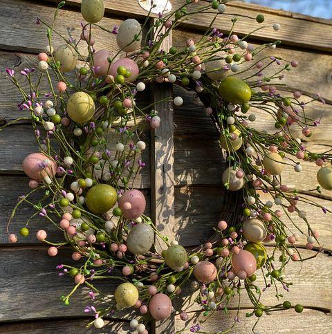 Easter Egg Spring Wreath