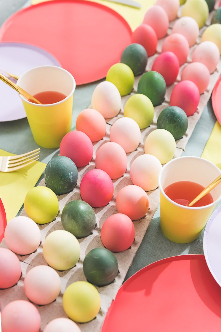 easter egg table runner diy