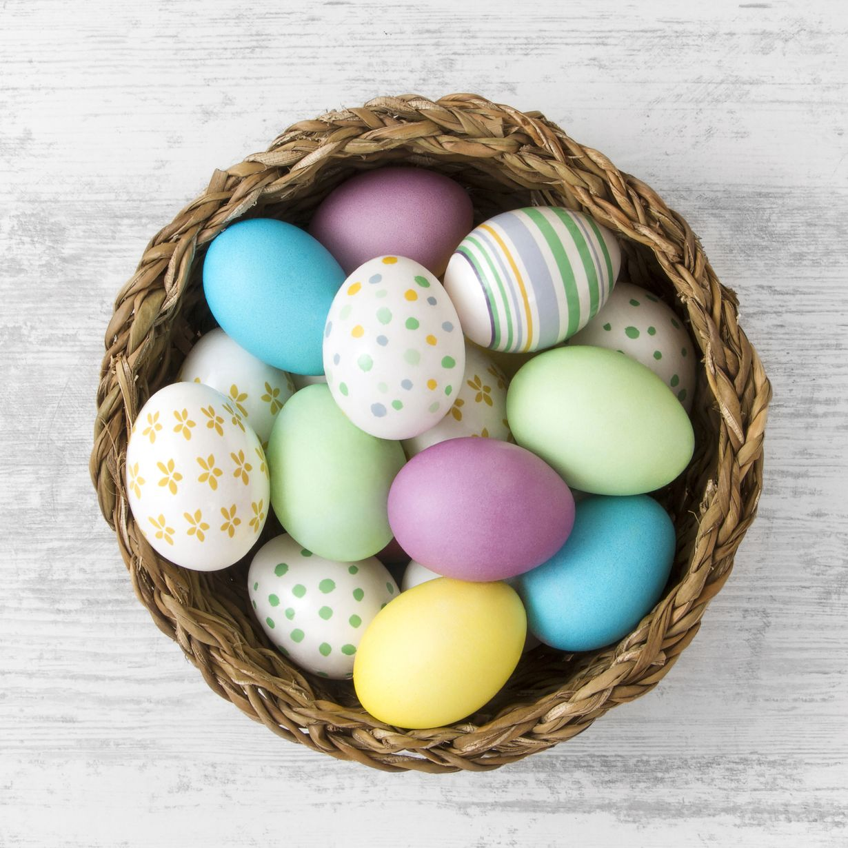 Why You Probably Shouldn't Eat Your Dyed Easter Eggs