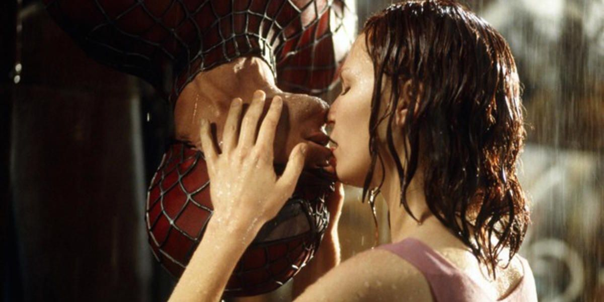 easter eggs spider-man nuevo universo beso peter parker mary jane