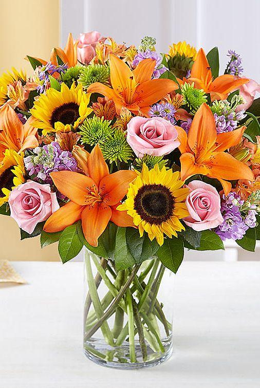 Easter Flowers Best Arrangements 1800 Flowers Sunflowers Lilies