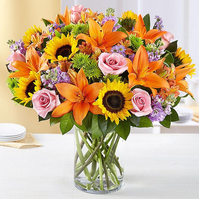 Easter Flowers Best Arrangements 1800 Flowers Sunflowers Lilies