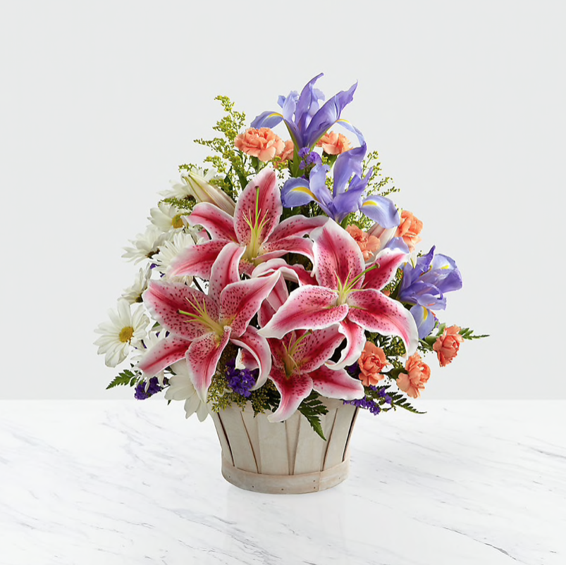 Easter Flowers Best Arrangements FTD Florists' Transworld Delivery Lilies Carnations