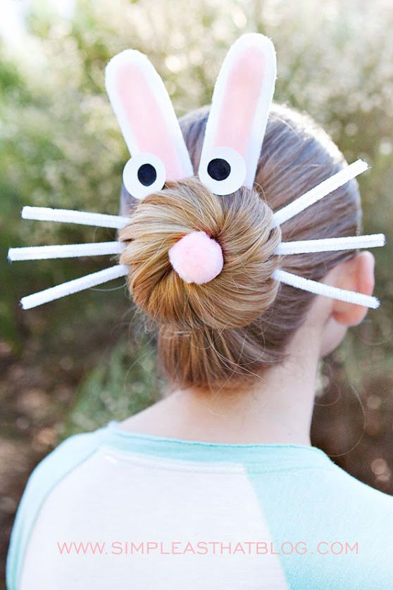 easter hairstyle kids