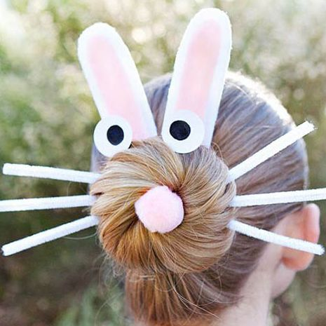 13 Cute Easter Hairstyles For Kids Easy Hair Styles For Easter