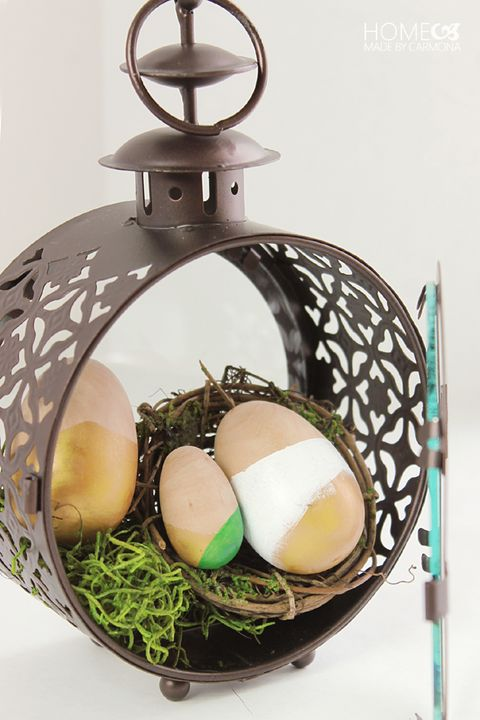 easter egg hanging lantern
