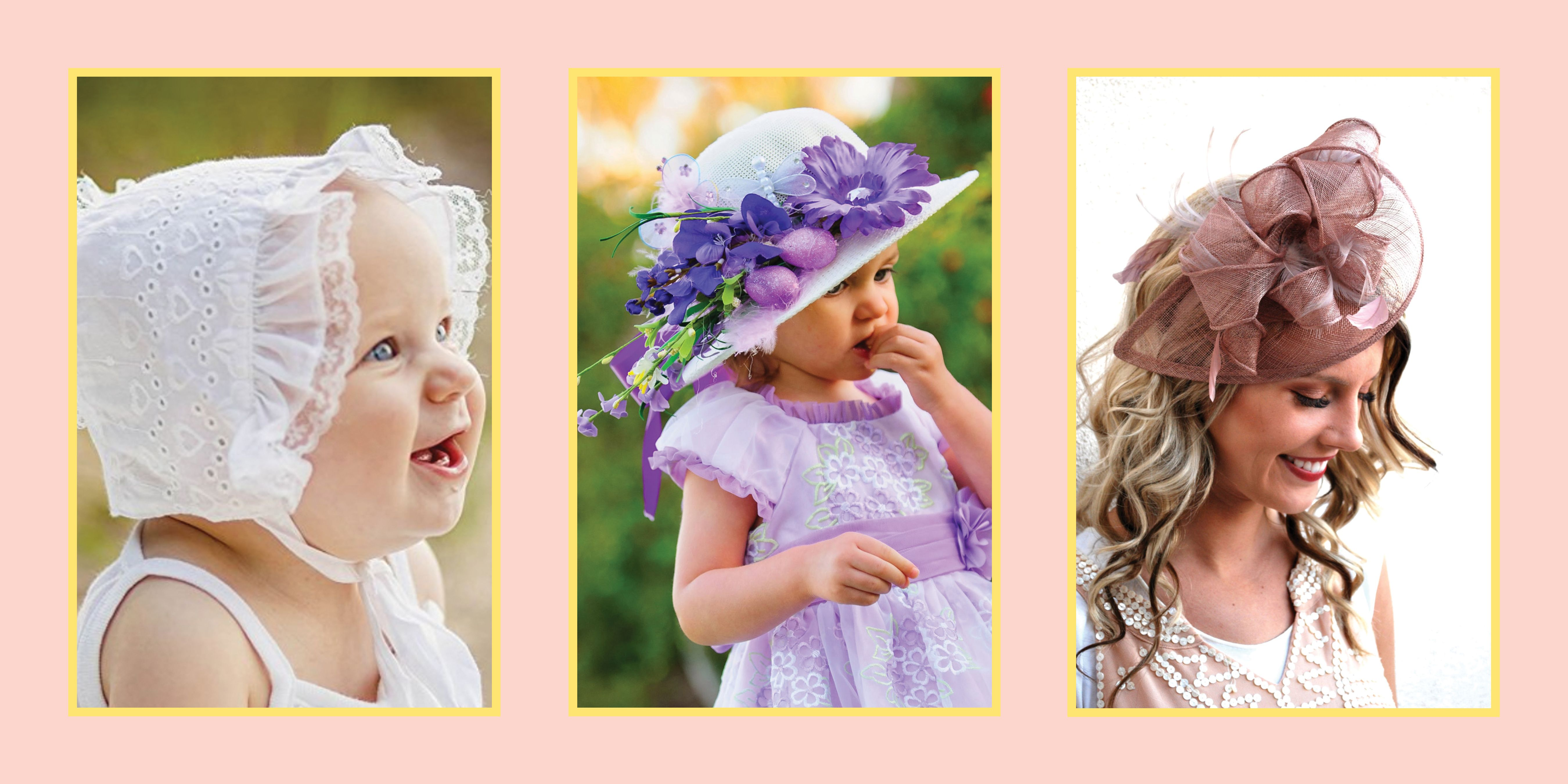 12 Cute Easter Hats and Bonnets for Toddlers a4cafe82e8e